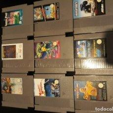 Videojuegos y Consolas: LOTE 9 JUEGOS NES NINTENDO. Lote 173847534