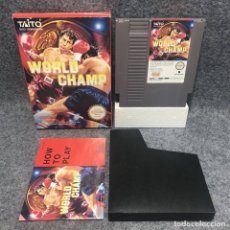 Videojuegos y Consolas: WORLD CHAMP NINTENDO NES. Lote 173886687