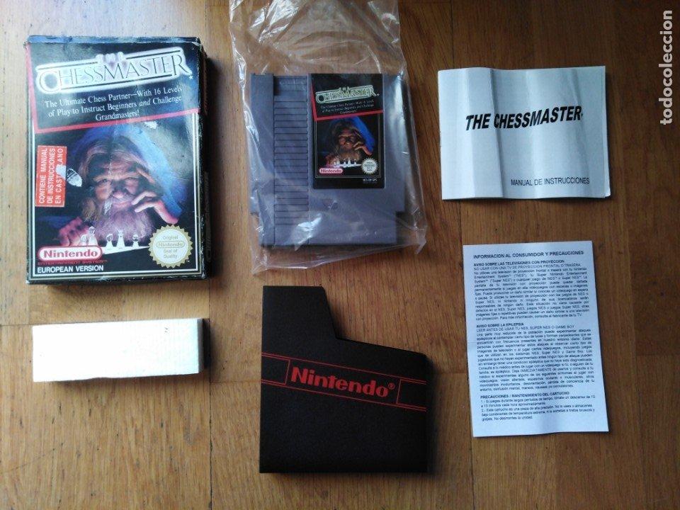 JUEGO NINTENDO NES THE CHESSMASTER (Juguetes - Videojuegos y Consolas - Nintendo - Nes)