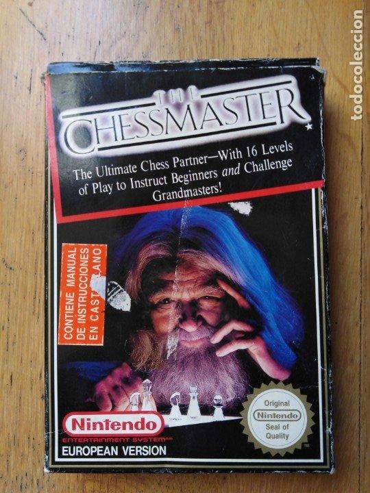 Videojuegos y Consolas: Juego Nintendo Nes The Chessmaster - Foto 5 - 173971965