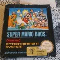 Videojuegos y Consolas: SUPER MARIO BROS NINTENDO NES EUROPEAN VERSION CAJA PEQUEÑA. Lote 174016479