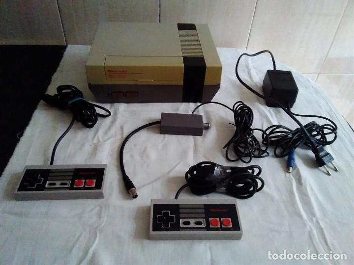 1-CONSOLA NINTENDO NES VERSION ESPAÑOLA 1987 (Juguetes - Videojuegos y Consolas - Nintendo - Nes)