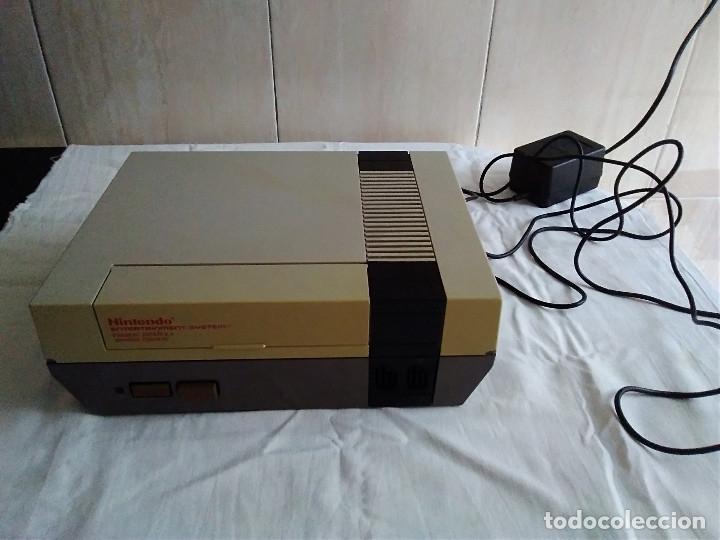 Videojuegos y Consolas: 1-CONSOLA NINTENDO NES VERSION ESPAÑOLA 1987 - Foto 3 - 174016592