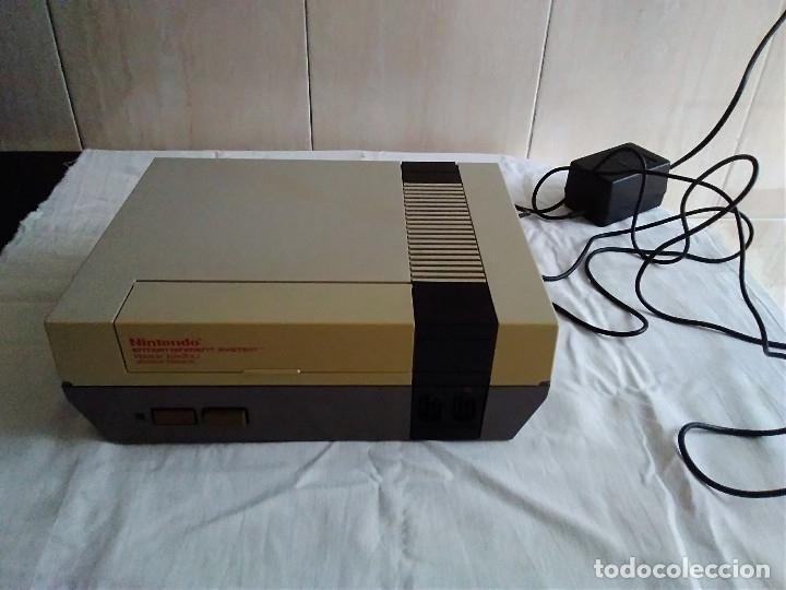 Videojuegos y Consolas: 1-CONSOLA NINTENDO NES VERSION ESPAÑOLA 1987 - Foto 4 - 174016592