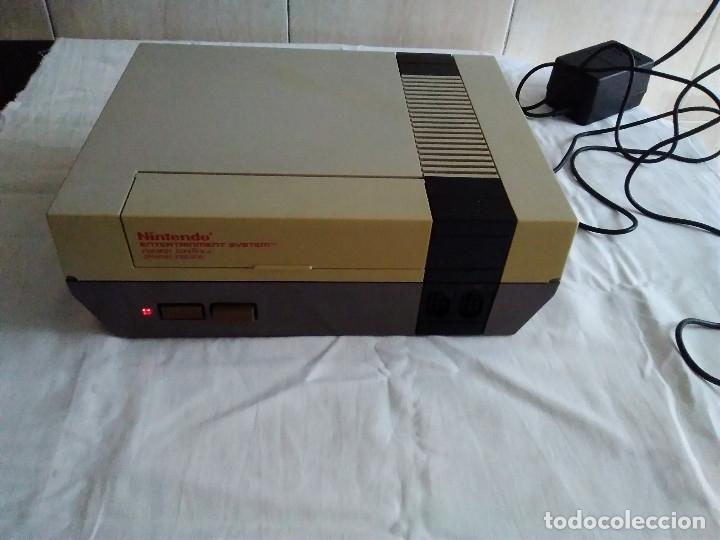 Videojuegos y Consolas: 1-CONSOLA NINTENDO NES VERSION ESPAÑOLA 1987 - Foto 5 - 174016592