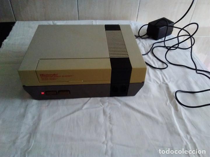 Videojuegos y Consolas: 1-CONSOLA NINTENDO NES VERSION ESPAÑOLA 1987 - Foto 6 - 174016592