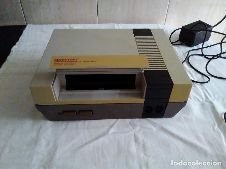Videojuegos y Consolas: 1-CONSOLA NINTENDO NES VERSION ESPAÑOLA 1987 - Foto 7 - 174016592
