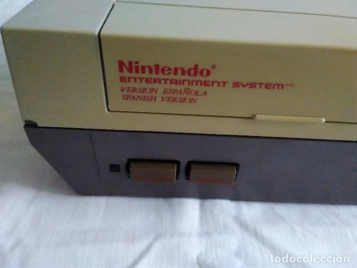 Videojuegos y Consolas: 1-CONSOLA NINTENDO NES VERSION ESPAÑOLA 1987 - Foto 19 - 174016592