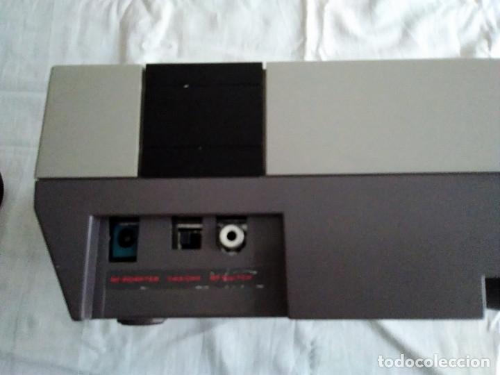 Videojuegos y Consolas: 1-CONSOLA NINTENDO NES VERSION ESPAÑOLA 1987 - Foto 23 - 174016592