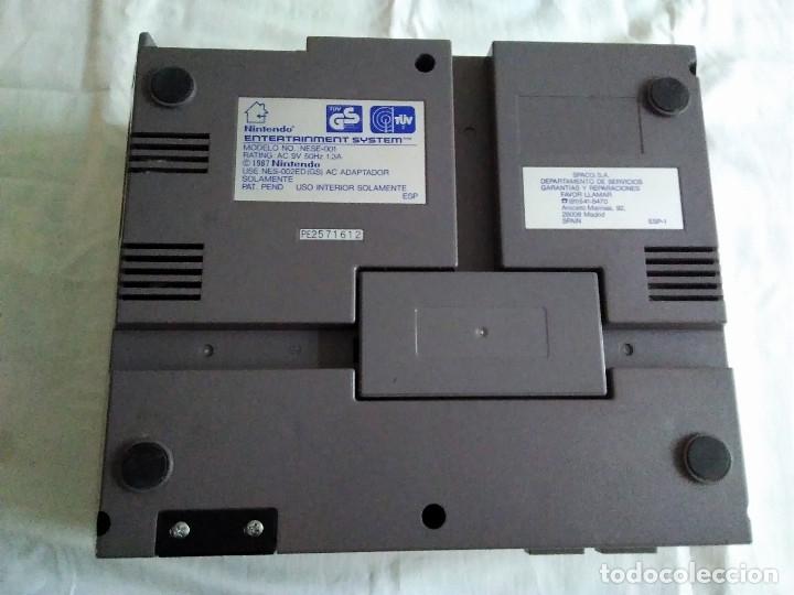 Videojuegos y Consolas: 1-CONSOLA NINTENDO NES VERSION ESPAÑOLA 1987 - Foto 24 - 174016592