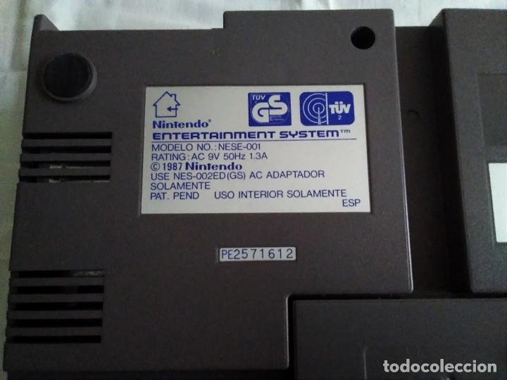 Videojuegos y Consolas: 1-CONSOLA NINTENDO NES VERSION ESPAÑOLA 1987 - Foto 25 - 174016592