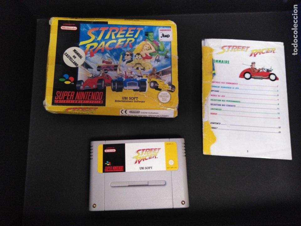 JUEGO SÚPER NINTENDO STREET RACER (Juguetes - Videojuegos y Consolas - Nintendo - Nes)