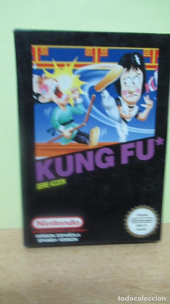 KUNG FU MUY BUEN ESTADO JUEGO NINTENDO NES PAL CON CAJA. SIN INSTRUCCIONES (Juguetes - Videojuegos y Consolas - Nintendo - Nes)