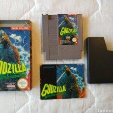 Videojuegos y Consolas: GODZILLA NINTENDO NES. Lote 175581982