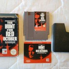 Videojuegos y Consolas: THE HUNT FOR RED OCTOBER NINTENDO NES. Lote 175582424