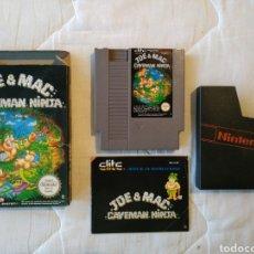 Videojuegos y Consolas: JOE & MAC CAVEMAN NINJA NINTENDO NES. Lote 175582590