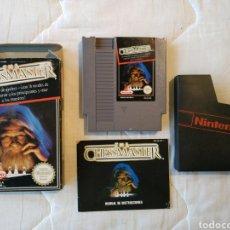 Videojuegos y Consolas: THE CHESS MASTER CHESSMASTER NINTENDO NES. Lote 175582775