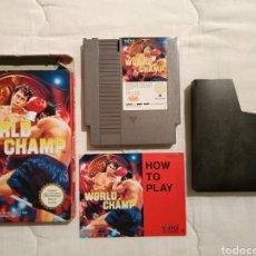 Videojuegos y Consolas: WORLD CHAMP NINTENDO NES. Lote 175584245