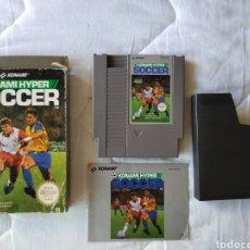 Videojuegos y Consolas: KONAMI HYPER SOCCER NINTENDO NES. Lote 175584963