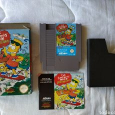 Videojuegos y Consolas: THE SIMPSONS BART VS THE SPACE MUTANTS NINTENDO NES. Lote 175587310
