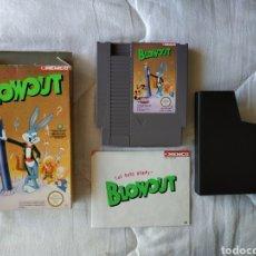 Videojuegos y Consolas: BLOWOUT NINTENDO NES. Lote 175588455