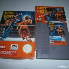 Videojuegos y Consolas: BEST OF THE BEST KARATE NINTENDO NES PAL ESPAÑA COMPLETO. Lote 175728413