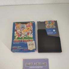Videojuegos y Consolas: GHOST'N GOBLINS NES VERSIÓN ESPAÑOLA. Lote 175829424