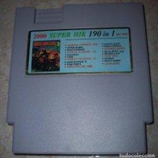 Videojuegos y Consolas: 190 IN 1 DONKEY KONG COUNTRY MORTAL KOMBAT NASA STREET FIGHTER NINTENDO NES BITS. Lote 175875584