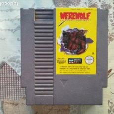 Videojuegos y Consolas: WEREWOLF THE LAST WARRIOR NES. Lote 175956615