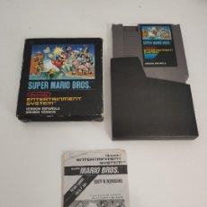 Videojuegos y Consolas: SUPER MARIO BROS 1 CAJA PEQUEÑA NES. Lote 176990418