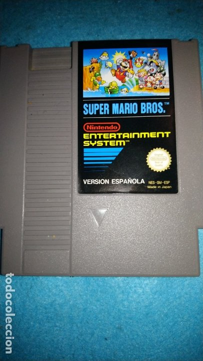 JUEGO NINTENDO NES SUPER MARIO BROS (Juguetes - Videojuegos y Consolas - Nintendo - Nes)