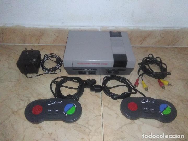 CONSOLA CLONICA NINTENDO NES (Juguetes - Videojuegos y Consolas - Nintendo - Nes)