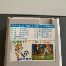 Videojuegos y Consolas: NES CLONICA. JUEGO. 1994. 11 IN 1. BALL SERIES. Lote 177665573