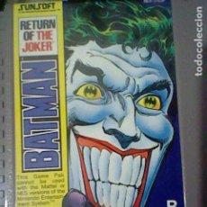 Videojuegos y Consolas: JOKER RETURN BATMAN CARTUCHO NES NINTENDO ORIGINAL 1985 48 ESP NINTENDO B. Lote 178331260