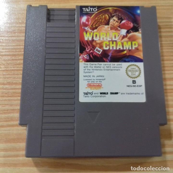 VIDEOJUEGO WORLD CHAMP NINTENDO NES (Juguetes - Videojuegos y Consolas - Nintendo - Nes)
