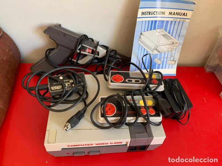CONSOLA NES CLONICA + PISTOLA + 2 MANDOS (Juguetes - Videojuegos y Consolas - Nintendo - Nes)