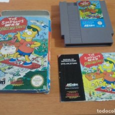 Videojuegos y Consolas: THE SIMPSONS BART VS SPACE MUTANTS NINTENDO NES PAL-ESPAÑA. Lote 179032492