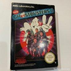 Videojuegos y Consolas: JUEGO NINTENDO NES GHOSTBUSTERS II EDICION ESPAÑOLA CAZAFANTASMAS. Lote 179106435