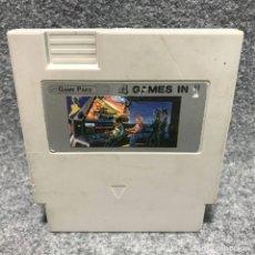 Videojuegos y Consolas: GAME PAKS 4 GAMES IN 1 NINTENDO NES. Lote 179124026