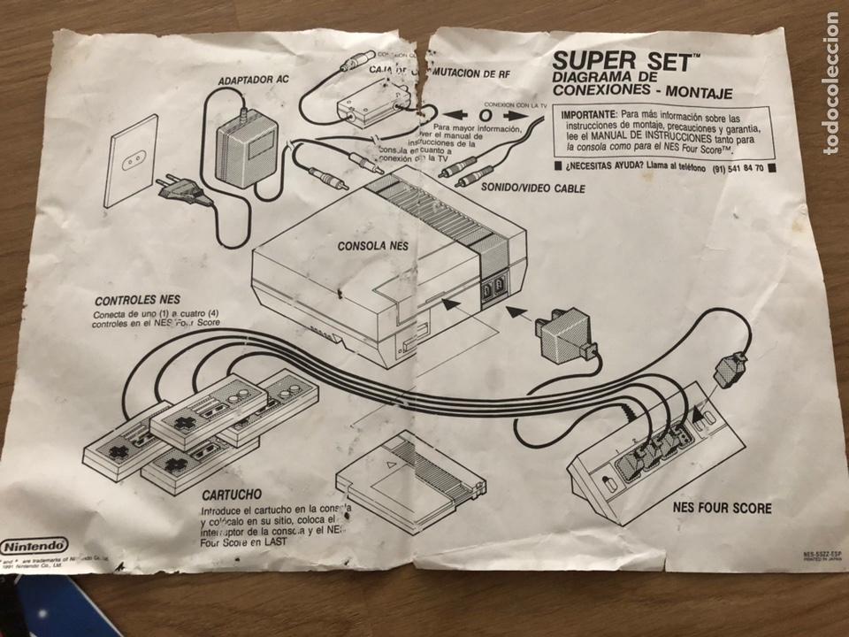 Videojuegos y Consolas: NINTENDO NES SUPER SET PAL ESPAÑA- FOUR SCORE - 4 MANDOS 80´S RETRO - Foto 5 - 179253687