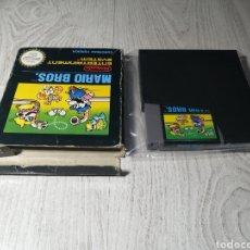 Videojuegos y Consolas: MARIO BROS NINTENDO NES. Lote 179521417