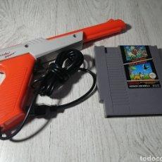 Videojuegos y Consolas: NINTENDO ZAPPER SUPER MARIO BROS /DUCK HUNT NES. Lote 179524950