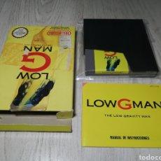 Videojuegos y Consolas: LOW G MAN THE LOW GRAVITY MAN NINTENDO NES. Lote 180098453