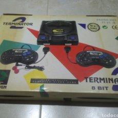 Videojuegos y Consolas: CONSOLA TERMINATOR 2 CLONICA NES DEFECTO. Lote 180152051