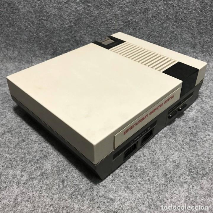 Videojuegos y Consolas: CONSOLA NINTENDO NES CLONICA+MANDO+AV+AC - Foto 2 - 180407766