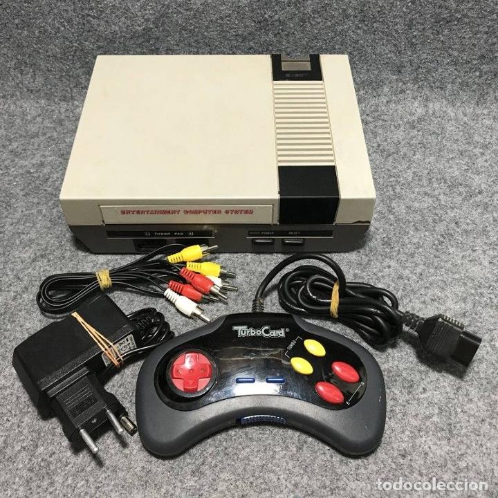 CONSOLA NINTENDO NES CLONICA+MANDO+AV+AC (Juguetes - Videojuegos y Consolas - Nintendo - Nes)