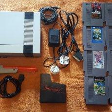 Videojuegos y Consolas: LOTE NINTENDO NES MAS 12 JUEGOS. Lote 180874421