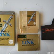 Videojuegos y Consolas: ZELDA II THE ADVENTURE OF LINK NINTENDO NES. Lote 181111948