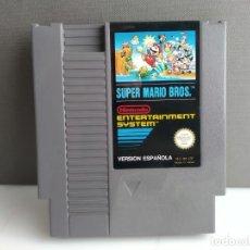 Videojuegos y Consolas: JUEGO PARA NINTENDO NES SUPER MARIO BROS. Lote 182284208