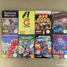 Videojuegos y Consolas: CAJAS ORIGINALES DE JUEGOS NES, 8 UDS.. Lote 182404901